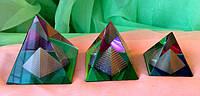 Пирамида в пирамиде 3 размера, стекло.
