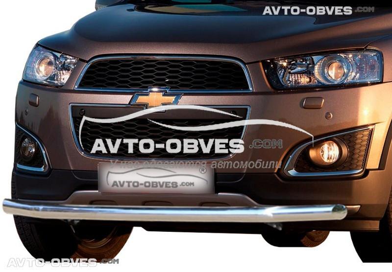 Защитная дуга одинарная для Chevrolet Captiva 2012-2020