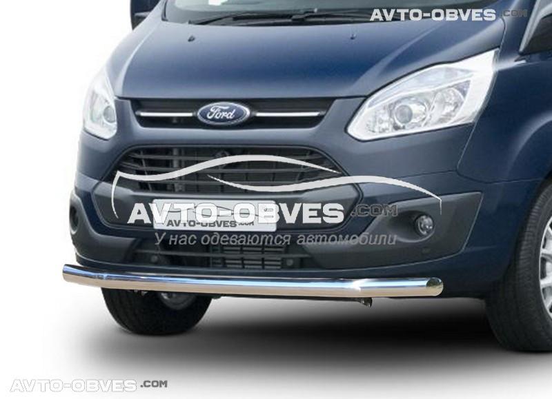 Защитная дуга одинарная для Ford Custom 2013-2020 (под заказ)