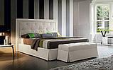 Мягкая кровать ADRIAN с простеганным изголовьем фабрика Felis (Италия), фото 2