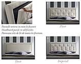 Мягкая кровать ADRIAN с простеганным изголовьем фабрика Felis (Италия), фото 4