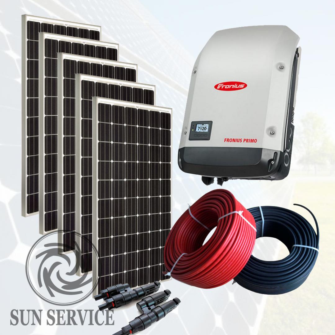"""Сонячна електростанція 5kW під """"Зелений тариф"""", комплект преміум"""