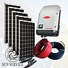 """Сонячна електростанція 5 кВт під """"Зелений тариф"""", комплект преміум"""
