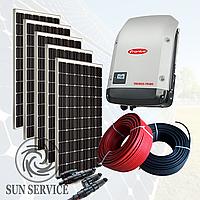 """Сонячна електростанція 5 кВт під """"Зелений тариф"""", комплект преміум, фото 1"""