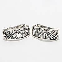 Серебряные серьги 1110291