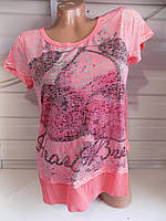 Женская футболка лето короткий рукав оптом , фото 1
