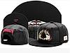 Кожаная черная кепка без надписей с прямым козырьком Snapback Hip Hop, фото 4