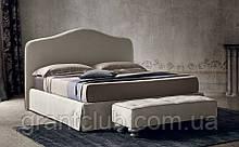 Класична ліжко DAMIAN з м'яким узголів'ям фабрика Felis (Італія)