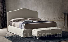 Классическая кровать DAMIAN с мягким изголовьем фабрика Felis (Италия)