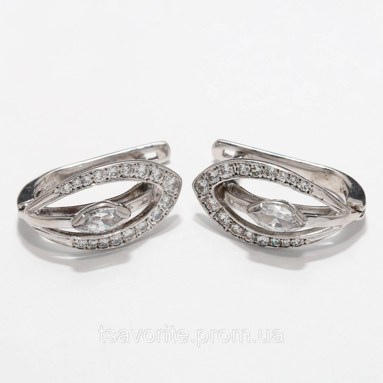 Серебряные серьги 1111310