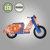 Беговел деревянный  Solid Design Sofia Оранжевый