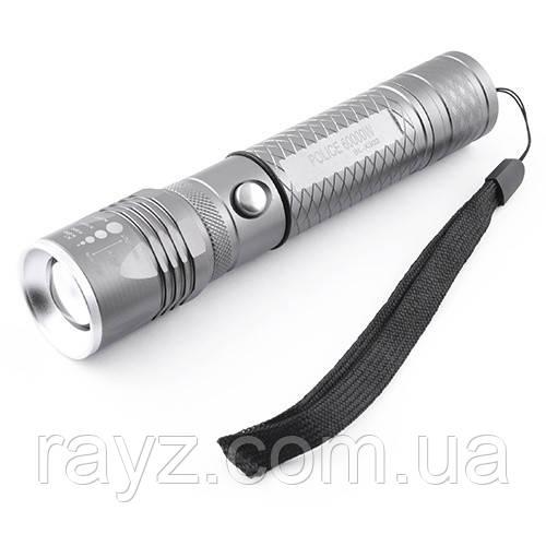 Тактический фонарик ультрафиолетовый Police BL-7030-2 ручной