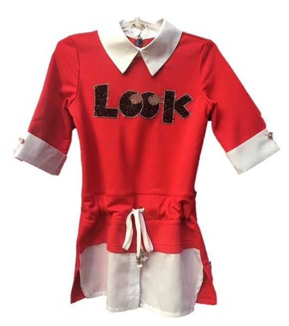 "Детская туника рубашка ""Лукия"""