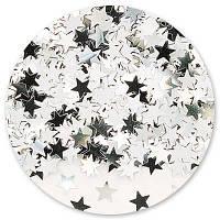 Конфетти Звезды серебро , 50 г