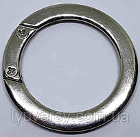 Кольцо карабин разборное 24 мм