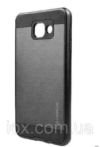 Черный двойной чехол Verus на Samsung Galaxy J7 (2016)