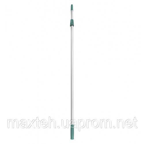 Телескопическая ручка 2,5 м. 2х1,25 м. алюминиевая усиленная