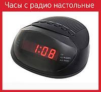 Часы с FM 318 р (220 В), Часы с радио настольные