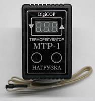Терморегулятор розеточный цифровой МТР-1 10А  однопороговый DigiCOP