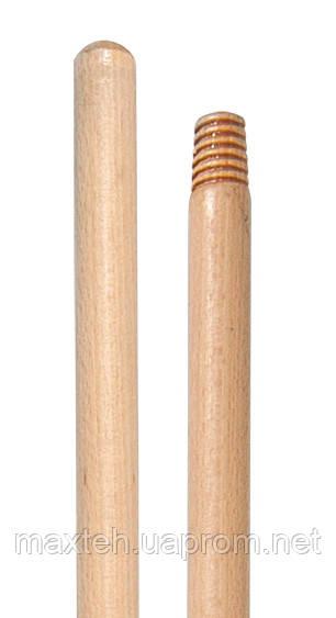 Ручка для швабры VDM деревянная (с резьбой) 4019