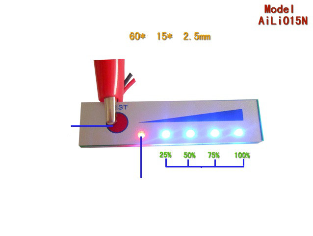 LED индикатор заряда/разряда аккумуляторов li-ion / Li-pol 5S21V
