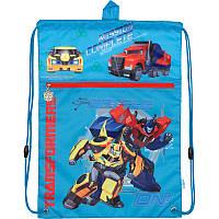 "Сумка для обуви с карманом ""Transformers"" Kite TF17-601M-3"