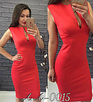 Женское стильное удлинённое вечернее платье с глубоким вырезом недорого 6 цветов, фото 1