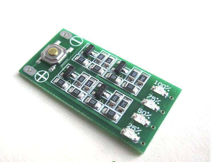 LED индикатор заряда/разряда аккумуляторов li-ion, li-pol 3S 12.6V