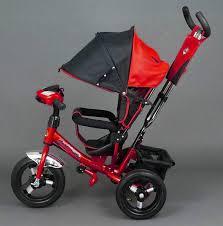 Трехколесный детский велосипед Best Trike Красный