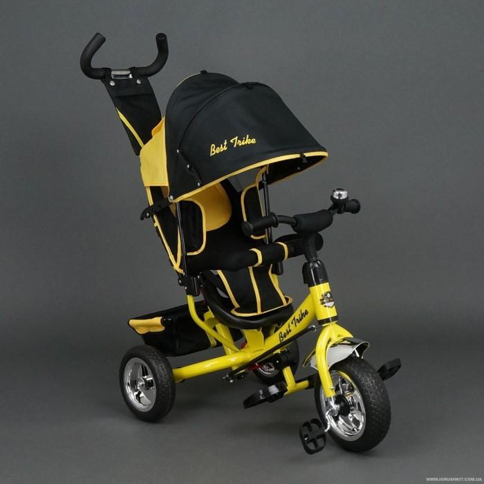 Трехколесный велосипед желтый  (колеса пена)