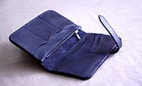"""Чоловічий портмоне мужской кожаный портмоне """"Wave"""" ручної роботи, натуральна шкіра, фото 1"""