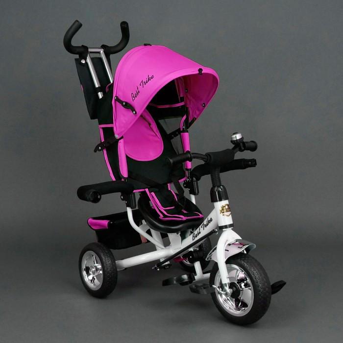 Детский трехколесный велосипед Best Trike Розовый  (колеса пена)