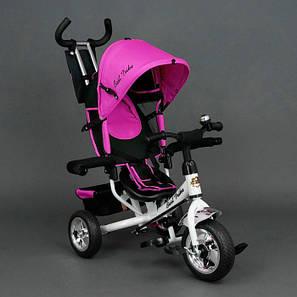 Детский трехколесный велосипед Best Trike Розовый  (колеса пена), фото 2