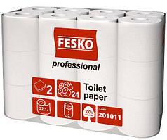 Туалетная бумага FESKO Professional 2х слойная