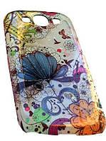 Чехол к Samsung GalaxyS3 (i9300) с разными цветочками, фото 1