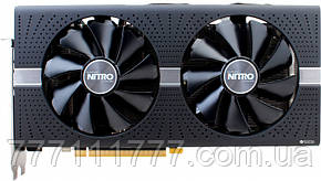 Видеокарта VGA SAPPHIRE RX580 NITRO+ OC 4GB BACKPLATE GDDR5 (11265-31-20G) Гарантия!
