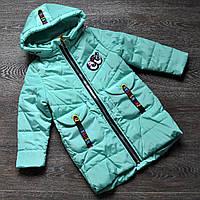 Демисезонная куртка  для девочки весна-осень 92-116р, фото 1