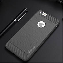 Накладка iPaky Carbon for iPhone 6/6S Plus Black