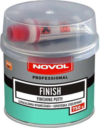 Novol FINISH Шпатлевка отделочная, вес 0,75 кг