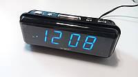 Часы сетевые VST 738-5, синие, фото 1