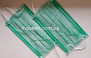 Маски медицинские мятные, трехслойные(100 шт), фото 3