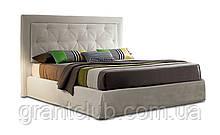 Мягкая кровать ADRIAN с простеганным изголовьем фабрика Felis (Италия)