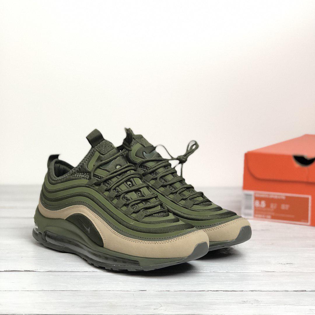 4d84671f Nike Air Max 97 SE Green Olive | мужские кроссовки; зеленые/хаки/оливковые