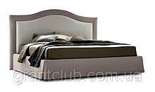 Класична ліжко OSCAR з м'яким узголів'ям фабрика Felis (Італія)