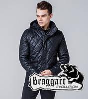 Braggart 1489 | Мужская ветровка весенне-осенняя черный
