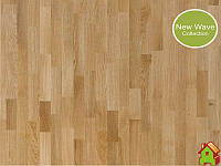 Паркетна Дошка Upofloor Oak Select Matt 3S Лак + Браш + Фаска Трьохполосна