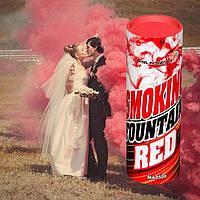 Красный дым для фотосессии