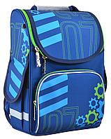 Рюкзак каркасний ортопедичний для хлопчика PG-11 Mechanic, 31*26*14 SMART