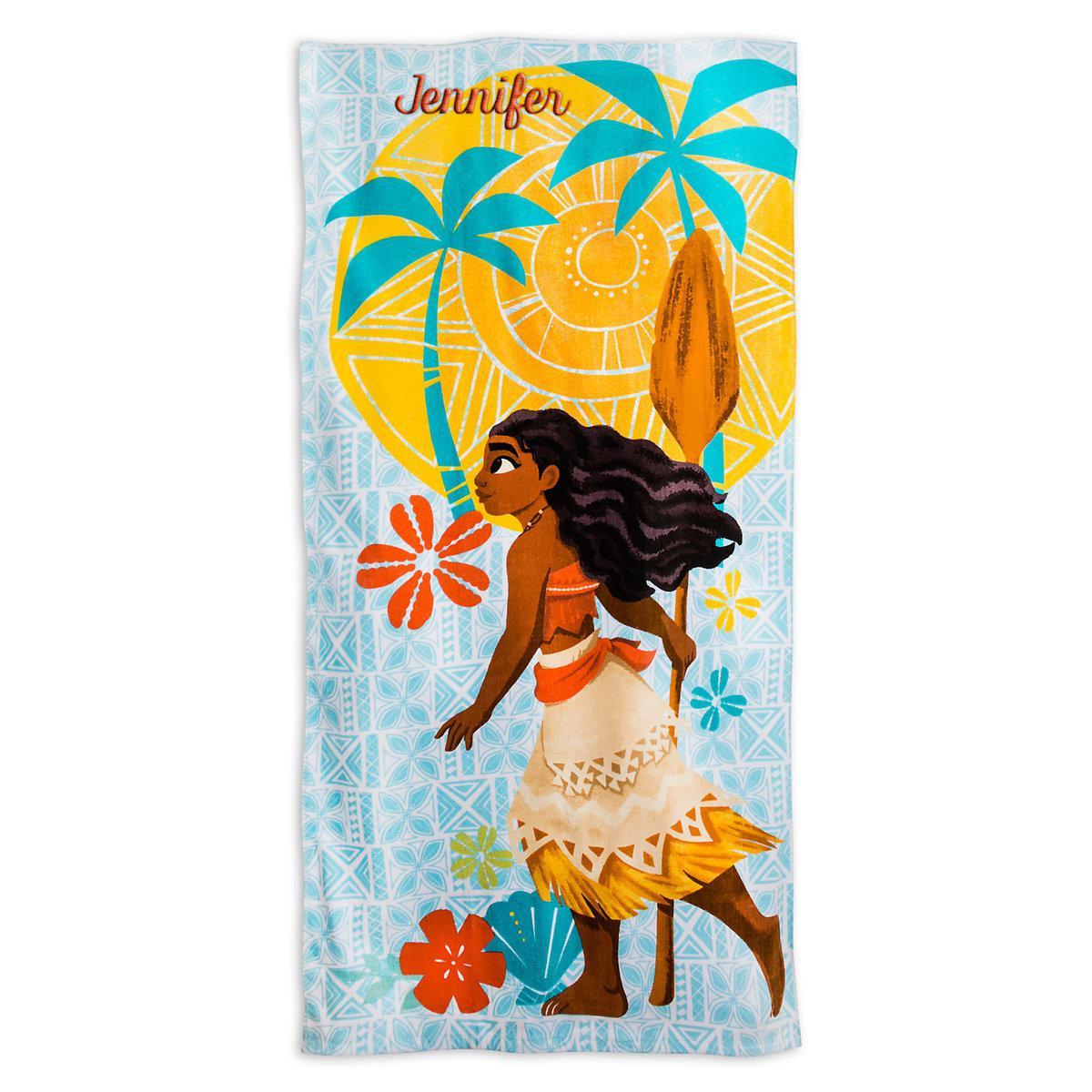 Детское махровое полотенце Моана Disney Moana Beach Towel