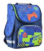 Рюкзак каркасный ортопедический  для мальчика PG-11 Game over , 31*26*14 SMART